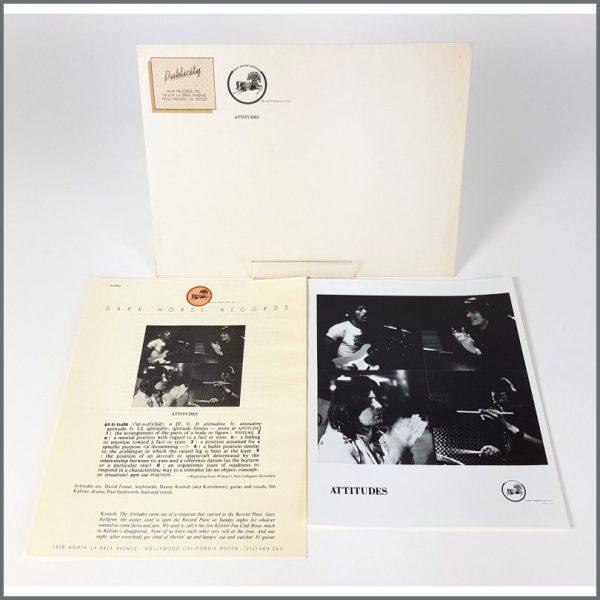 B26133 - Attitudes 1976 Dark Horse Records Promotional Press Kit (USA)