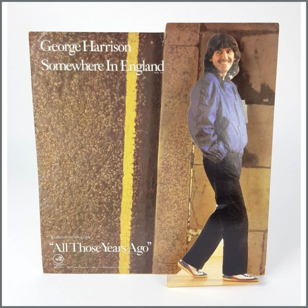 B26134 - George Harrison 1981 Somewhere In England Promotional Shop Display (USA)