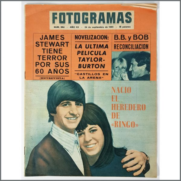 B26144 - The Beatles 1965 Fotogramas Magazine (Spain)