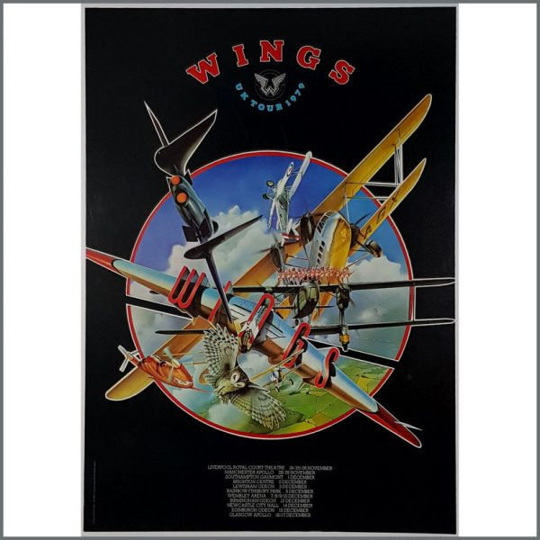 B26160 - Paul McCartney 1979 Wings UK Tour Poster (UK)
