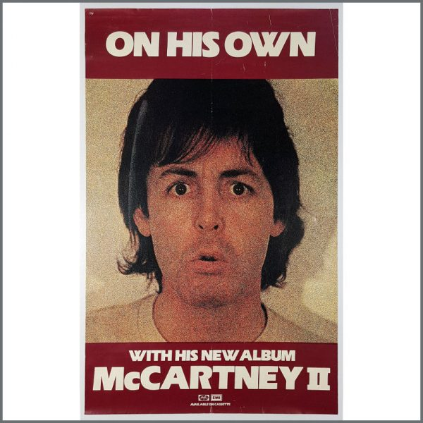 B26180 - Paul McCartney 1980 McCartney II Promotional Poster (UK)
