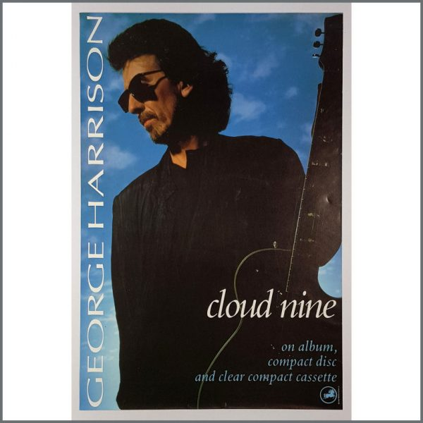 B26182  - George Harrison 1987 Cloud Nine Promotional Poster (UK)