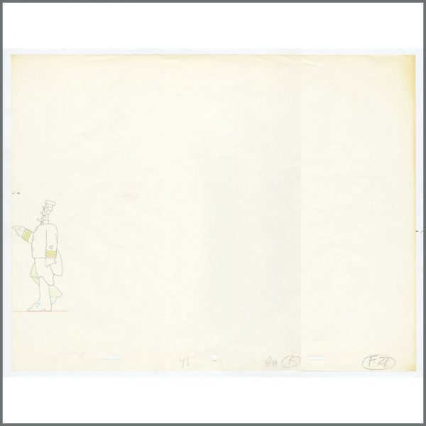 B26193 - The Beatles 1968 Yellow Submarine Animation Drawing (UK)