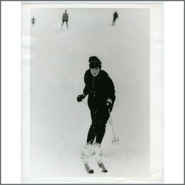 B26222 - John Lennon 1965 St Moritz Vintage Photograph (Switzerland)