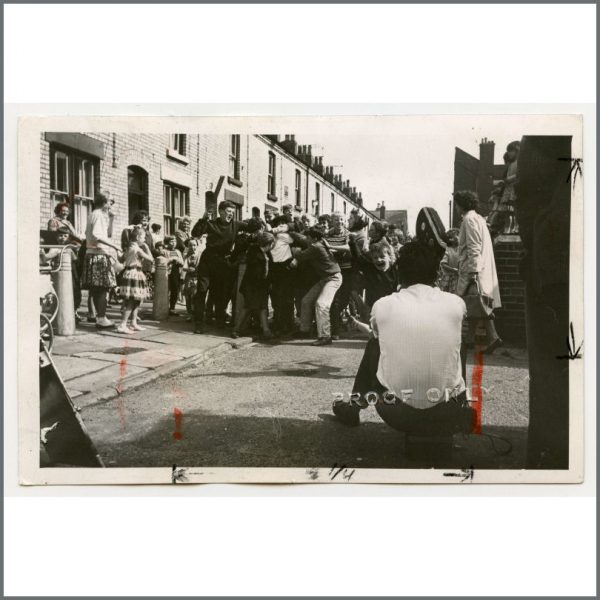 B26289 - Ringo Starr 1963 Vintage Peter Kaye Proof Photograph (UK)