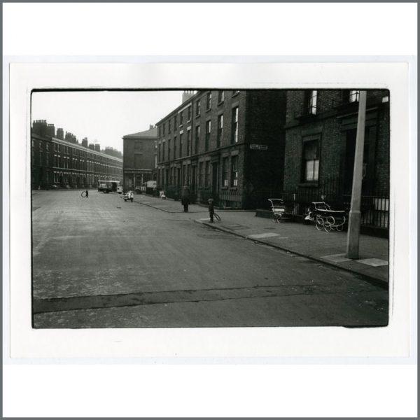 B26311 - Astrid Kirchherr 1960s Sandon Street Liverpool Photograph (Germany)