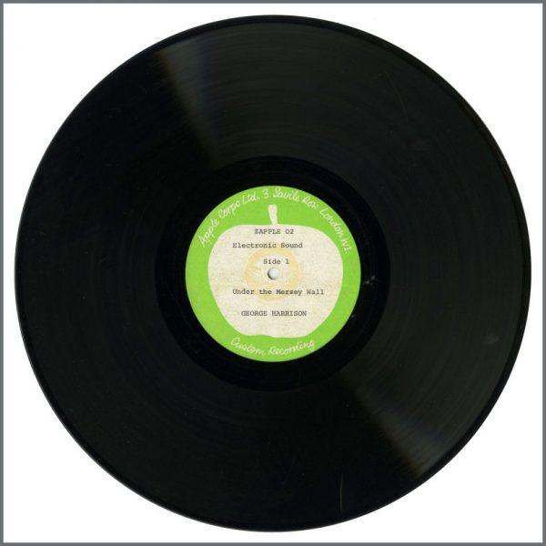 B26318 - George Harrison 1969 Electronic Sound Apple Records Test Pressings (UK)