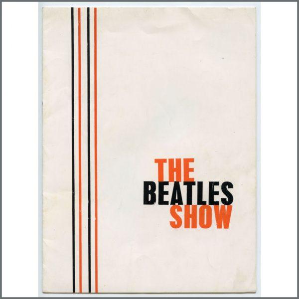 B26384 - The Beatles 1963 White Cover Tour Programme (UK)