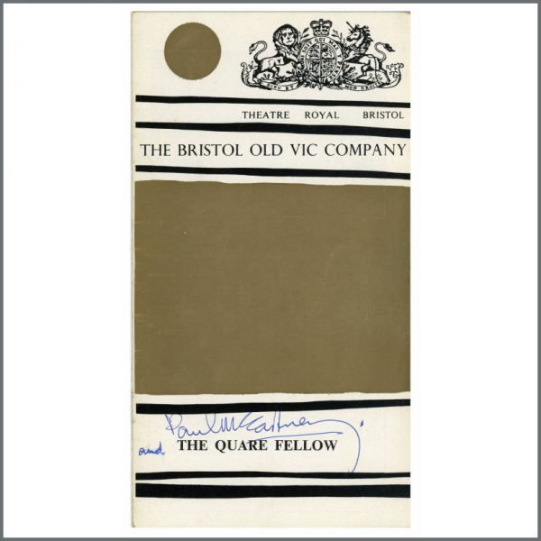 B26398 - Paul McCartney 1965 Autographed Programme (UK)