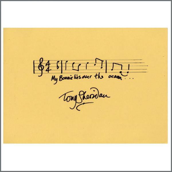 B26399 - Tony Sheridan Autograph (UK)