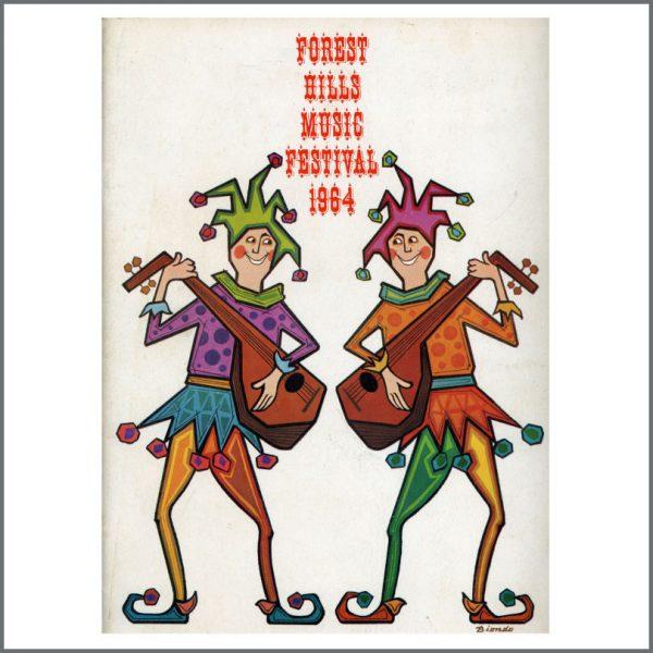 B26436 - The Beatles 1964 Forest Hills New York Concert Programme (USA)