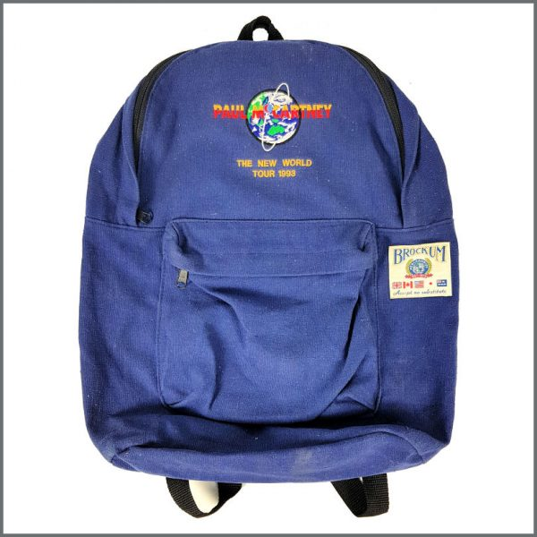 B26444 - Paul McCartney 1993 The New World Tour Crew Backpack