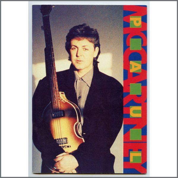 B26448 - Paul McCartney 1989/1990 World Tour Souvenir Programme