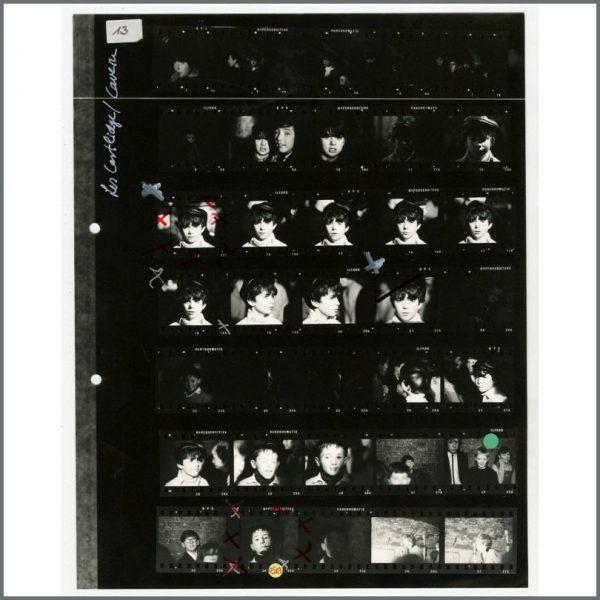 B26472 - The Cavern Club 1980s Astrid Kirchherr Contact Sheet (UK)