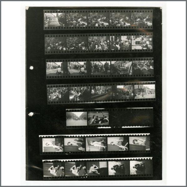 B26477 - The Beatles 1963 The Mersey Sound Peter Kaye Contact Sheet (UK)