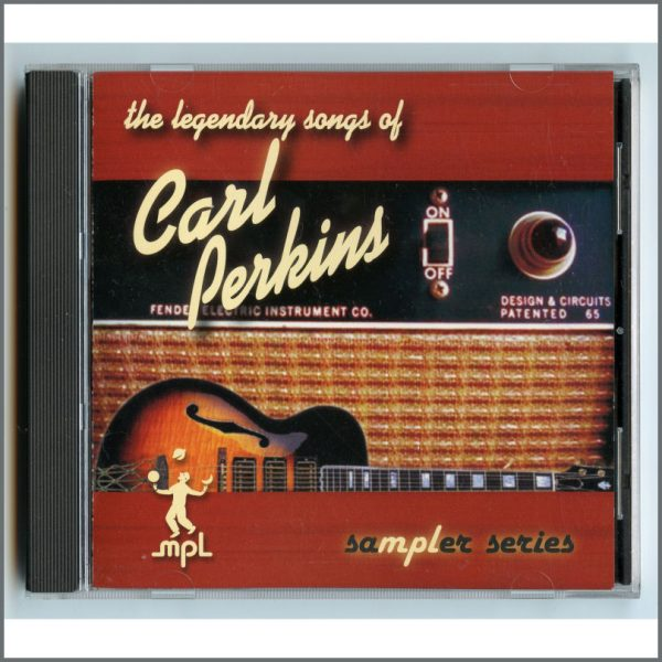 B26480 - Paul McCartney 2003 MPL The Legendary Songs Of Carl Perkins Promotional CD (USA)