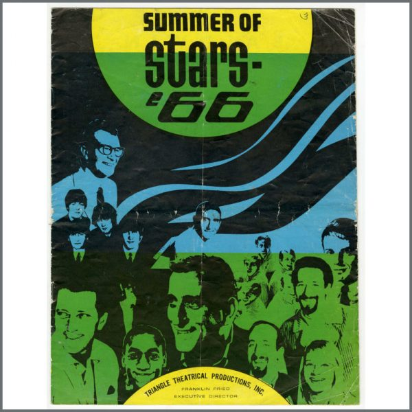 B26491 - The Beatles Summer Of Stars 1966 Chicago Promotional Programme (USA)