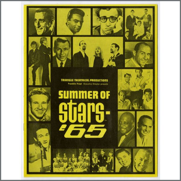 B26492 - The Beatles Summer Of Stars 1965 Chicago Promotional Programme (USA)