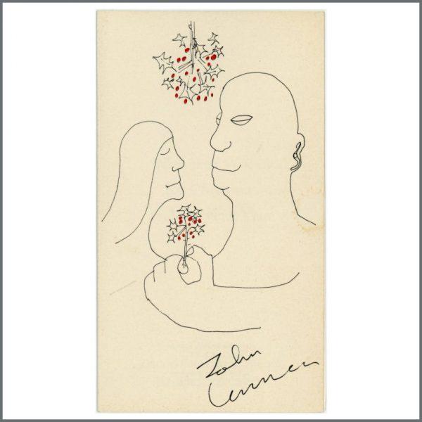 B26500 - John Lennon Designed Action For Crippled Children 1960s Christmas Card (UK)