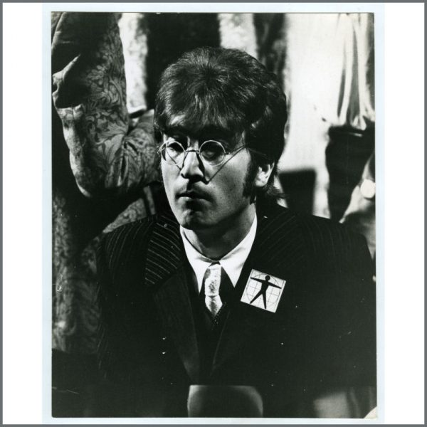 B26509 - John Lennon 1967 All You Need Is Love Leslie Bryce Vintage Photograph (UK)