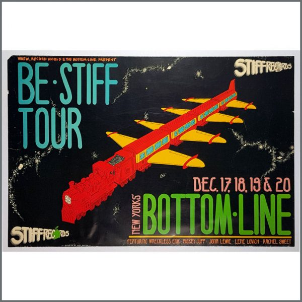 B26524 - Stiff Records 1978 Be Stiff Tour Concert Poster (USA)