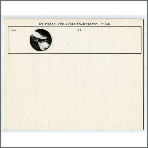 B26544 - John Lennon 1960s Bag Productions Unused Letterhead Paper (UK)