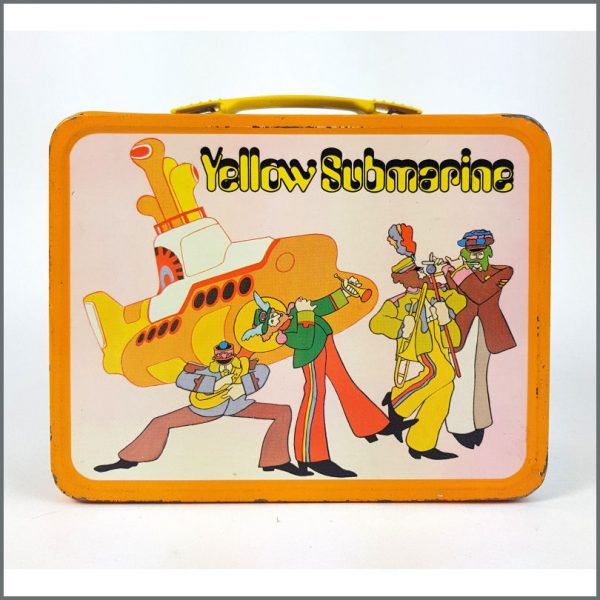 B26552 – The Beatles 1968 Yellow Submarine Lunch Box & Thermos (USA) 3