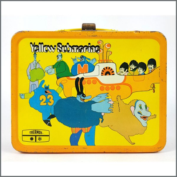B26552 – The Beatles 1968 Yellow Submarine Lunch Box & Thermos (USA) 2