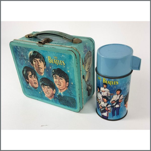 B26553 - The Beatles 1965 Lunch Box & Thermos (USA)