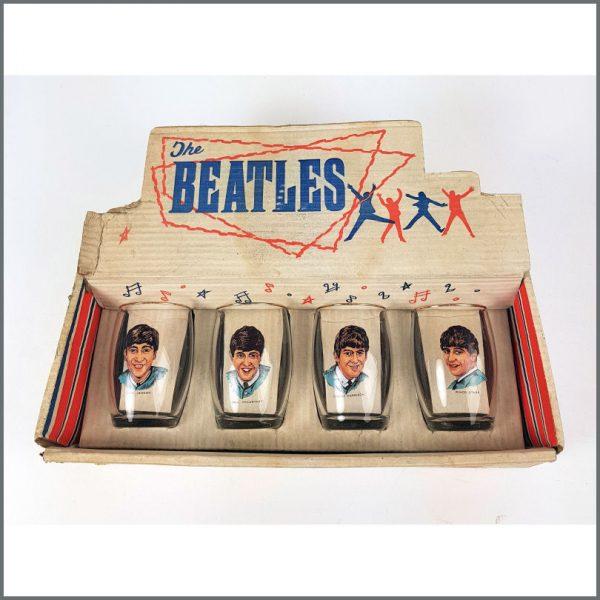 B26554 - The Beatles 1963 Joseph Lang Drinking Glasses (UK)