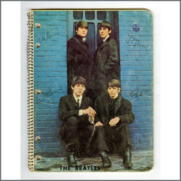 B26600 - The Beatles 1960s Used Notebook Spiral Bound (USA)