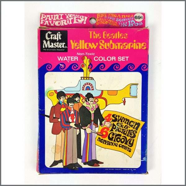 B26636 - The Beatles 1968 Yellow Submarine Watercolour Set (USA)