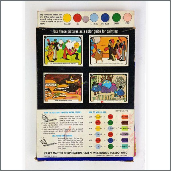 B26636 – The Beatles 1968 Yellow Submarine Watercolour Set (USA) 2