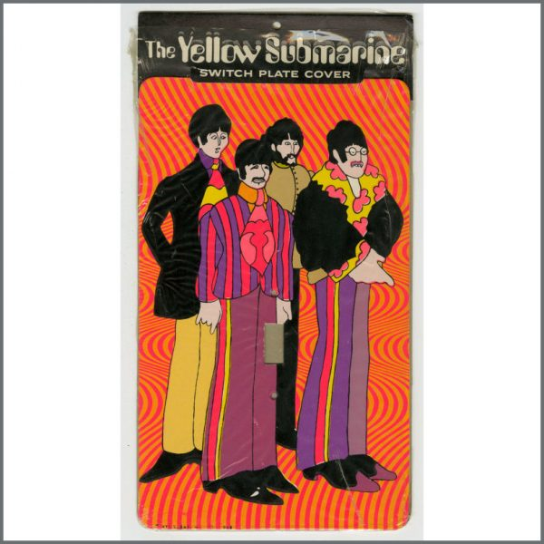 B26642 – The Beatles 1968 Yellow Submarine Switchplate Covers (USA) 2