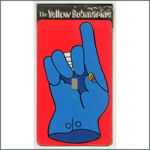 B26642 – The Beatles 1968 Yellow Submarine Switchplate Covers (USA) 5