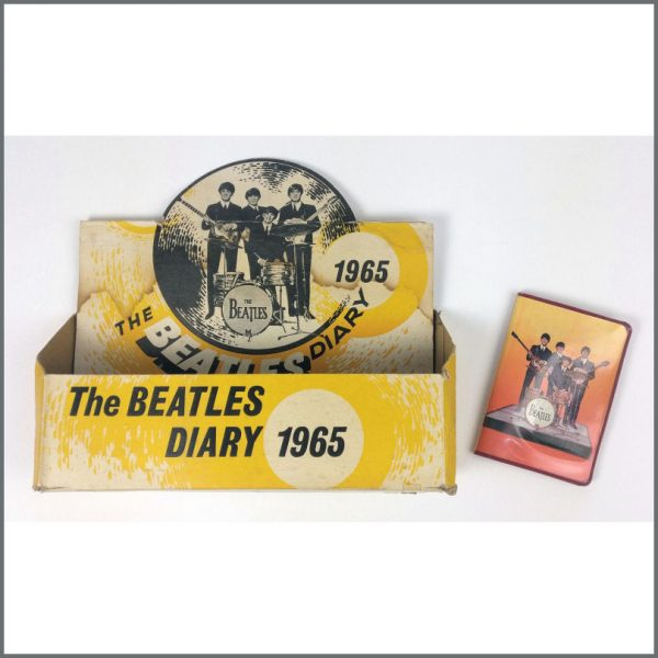 B26668 - The Beatles 1965 Beat Productions Diary & Shop Display (UK)