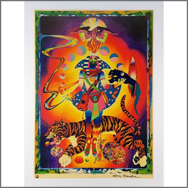 B26701 - The Fool 1970 Tigerman Marijke Signed Poster (USA)