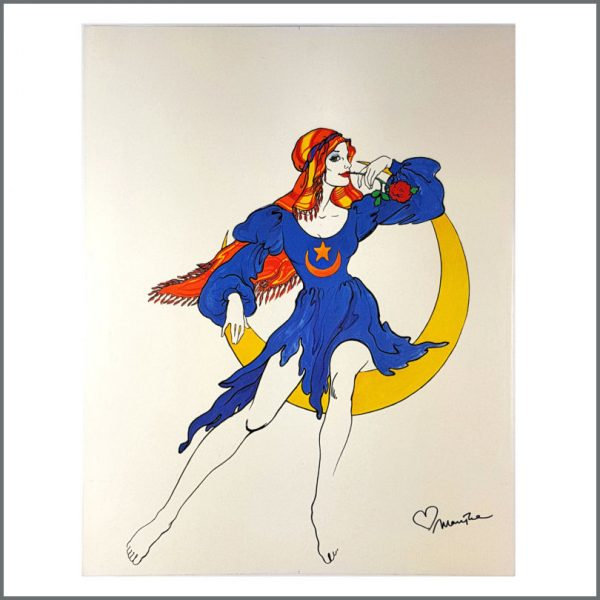B26703 - The Fool 1970s Luna Marijke Signed Modern Poster (UK)