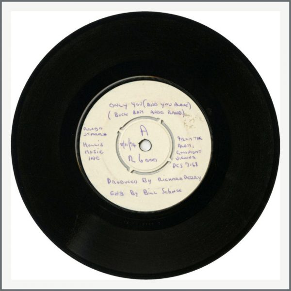 B26715 - Ringo Starr – Only You/Call Me 1974 White Label Test Pressing (UK)