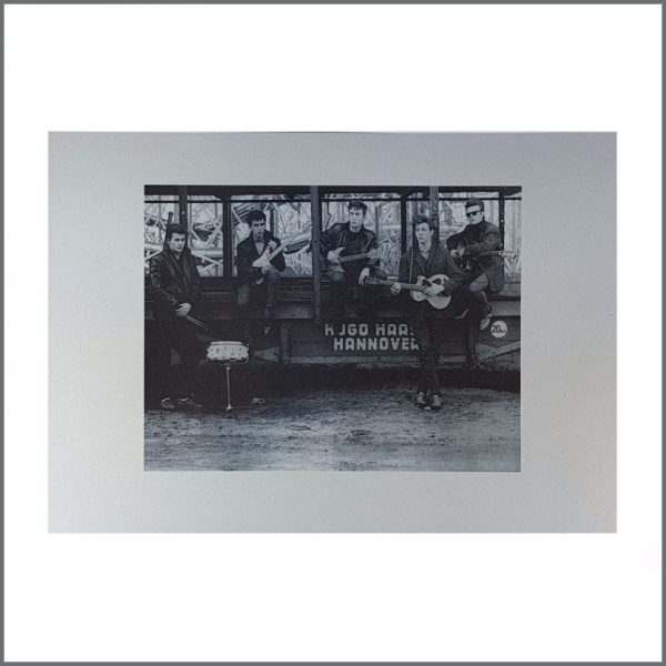 B26731 - The Beatles Astrid Kirchherr Blue Tint Funfair Print (Germany)