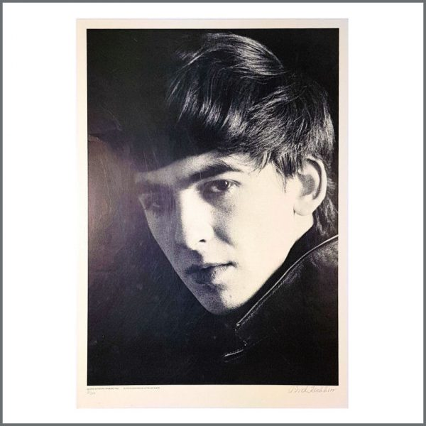 B26732 - George Harrison Astrid Kirchherr Signed Limited Edition Print 30/300 (Germany)