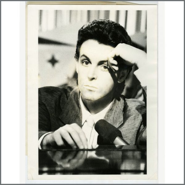 B26744 - Paul McCartney 1984 No More Lonely Nights Proof Photograph (UK)