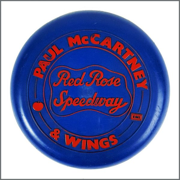 B26750 - Paul McCartney & Wings 1973 Red Rose Speedway Promotional Frisbee (UK)