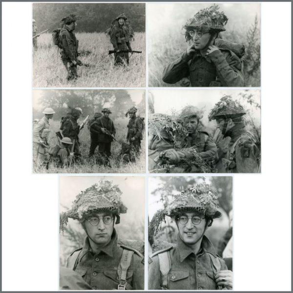 B26874 - John Lennon 1967 How I Won The War Modern Photographs (Germany)