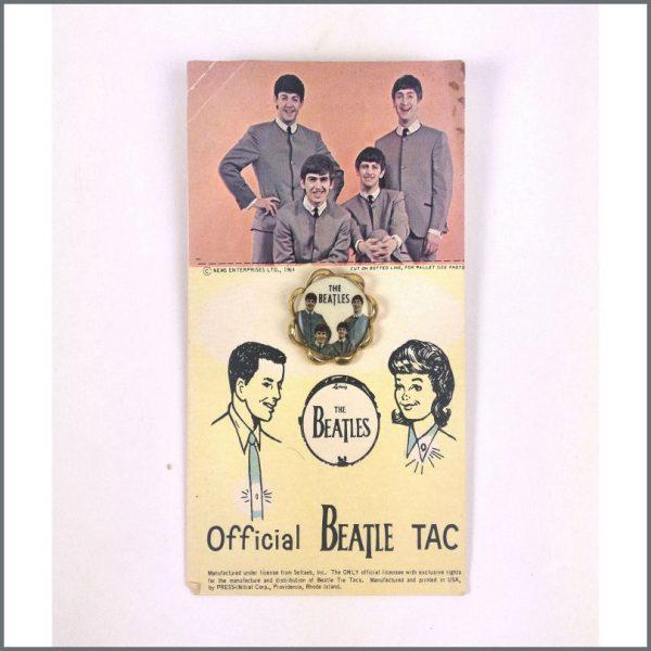 B26876 - The Beatles 1960s Seltaeb Inc Tie Tac Pin (USA)