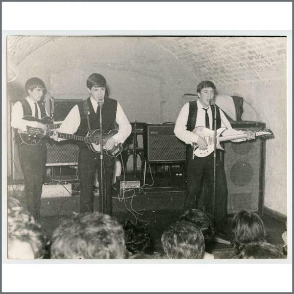 B26890 - The Beatles 1962 Cavern Club Liverpool Peter Kaye Photograph (UK)