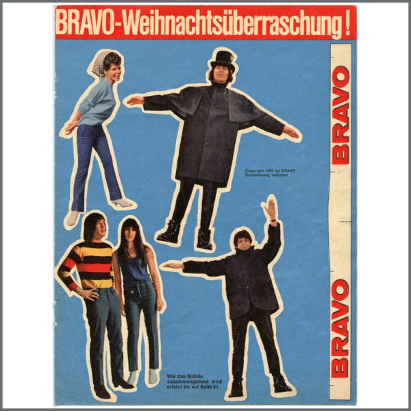 B26932 - The Beatles 1965 Bravo Cut-Out Mobile (Germany)