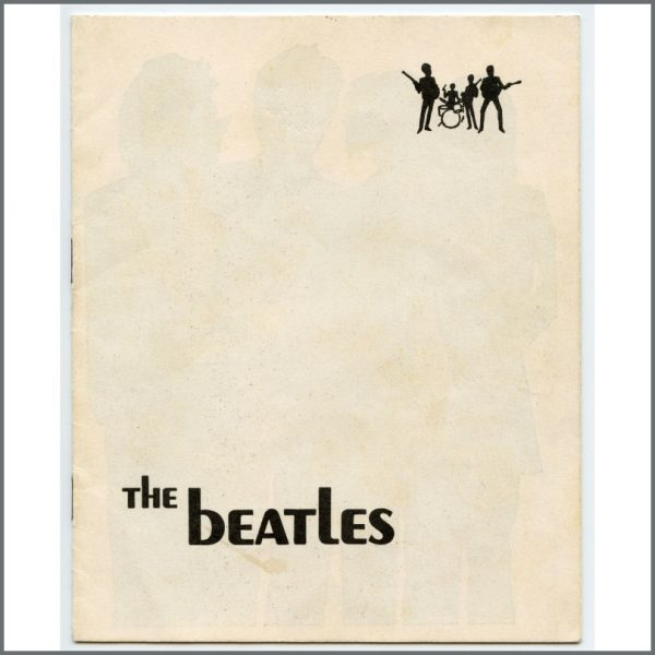 B26937 - The Beatles 1969 Yugoslavian Fan Club Promotional Booklet (Croatia)