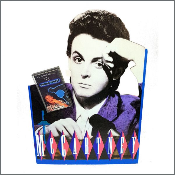 B26938 - Paul McCartney 1984 Give My Regards To Broad Street Cassette Shop Display (USA)