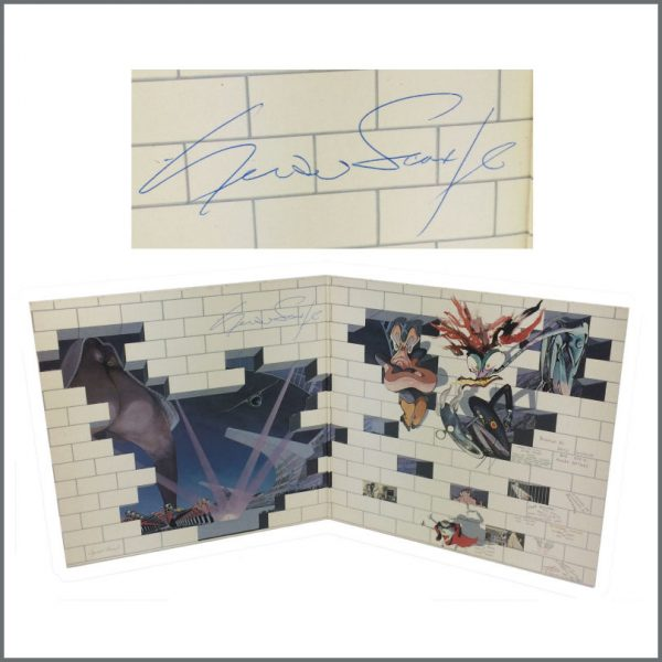 B26948 - Pink Floyd The Wall Album Signed By Gerald Scarfe (UK)